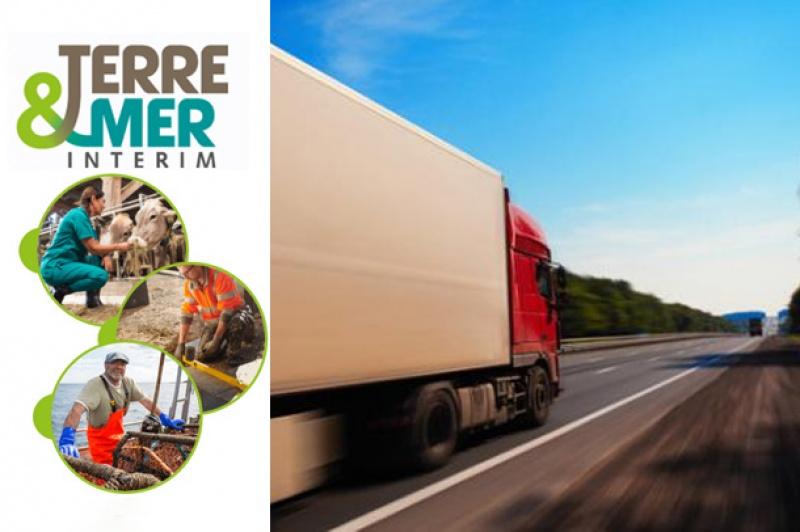 Dossier emploi Ouest France et Terre & Mer Intérim : Conducteur routier