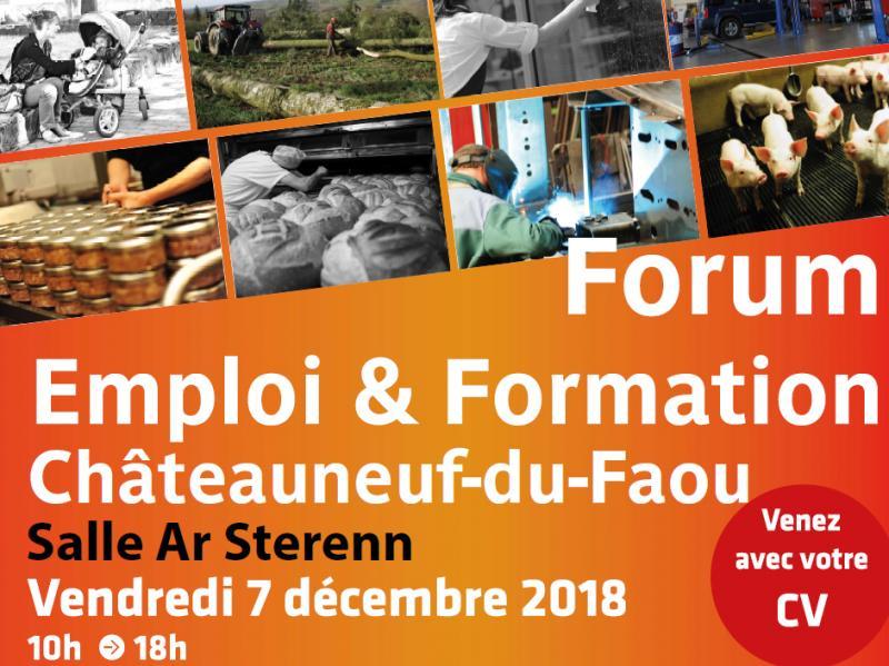 Forum Emploi & Formation à Châteauneuf Du Faou