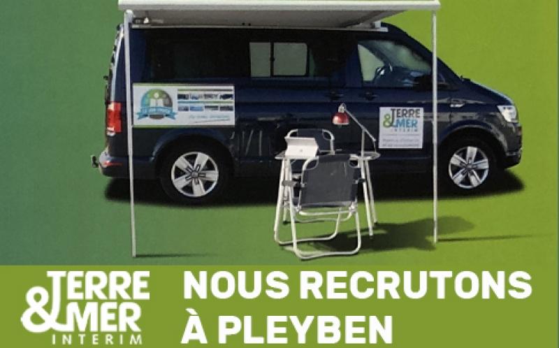 Job Truck journée de recrutement à Pleyben (29)