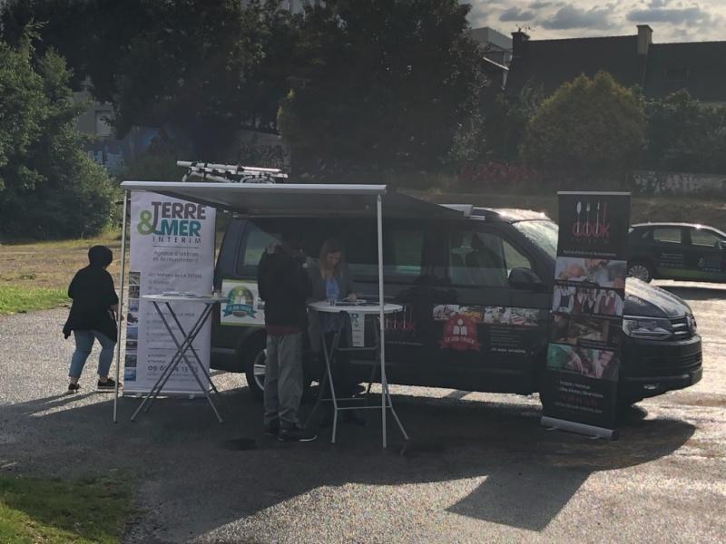 Le Job-truck TERRE & MER recrute à Concarneau !