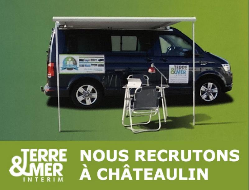 Le Job-truck TERRE & MER recrute à Châteaulin !