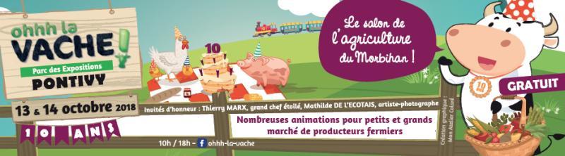 Terre & Mer intérim au salon de l'agriculture du Morbihan !