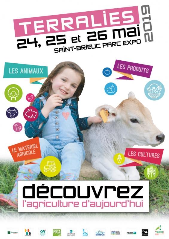 Terralies les 24, 25 et 26 mai à Saint-Brieuc